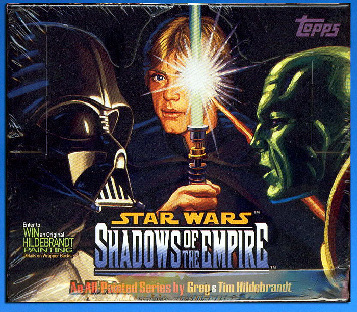 STAR WARS: SHADOWS OF THE EMPIRE trading card Box
