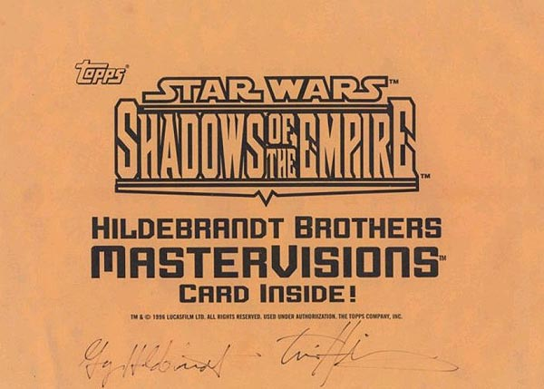 Autographed by Greg and Tim Hildebrandt