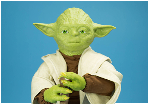 Legendary Yoda Fully Interactive Figure from Spin Master