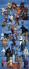 Star Wars Saga figures