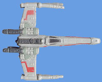 Micromachine X-Wing Fighter