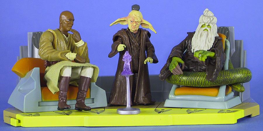 2003 Saga's Jedi High Council Screen Scenes (1 of 2)
