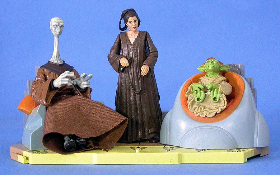2003 Saga's Jedi High Council Screen Scenes (2 of 2)