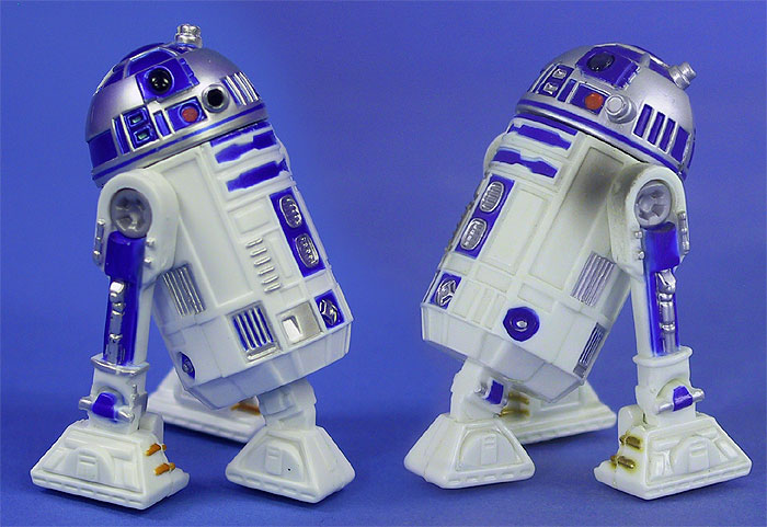 R2-D2 (Tatooine Mission) and R2-D2 (Naboo Escape)