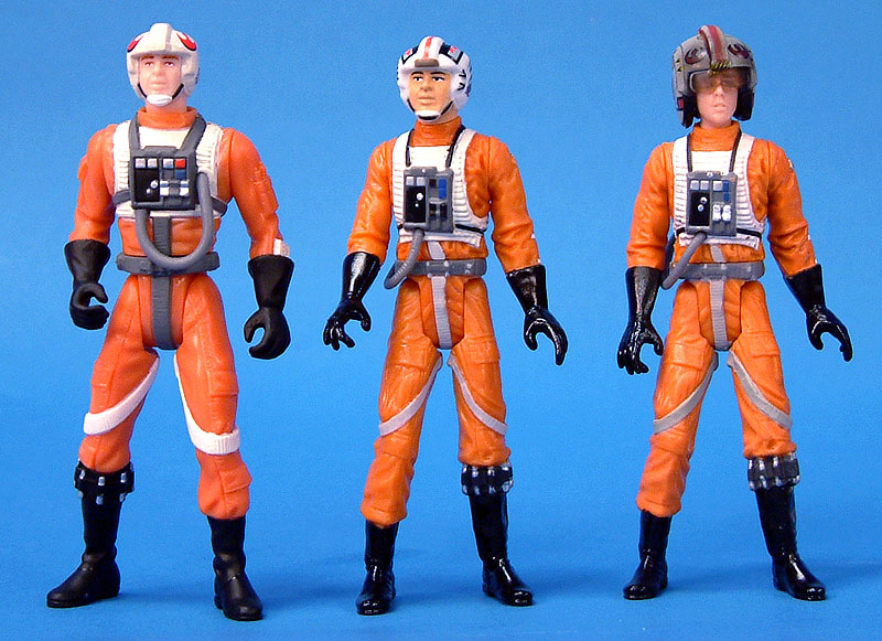 POTF2 Y-Wing Pilot | Red Leader Garven Dreis | OTC Luke Skywalker X-Wing Pilot