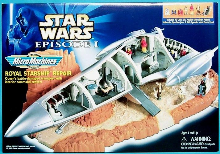 Naboo Royal Starship now sadly off-model...