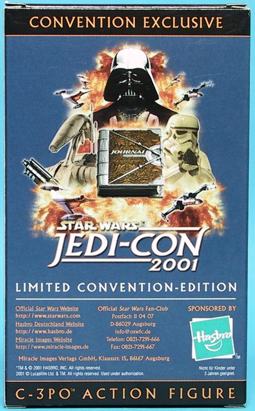 2001 Jedi-Con Convention Exclusive