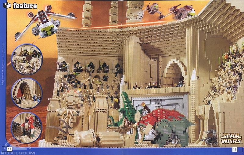 Lego Mania Magazine Article