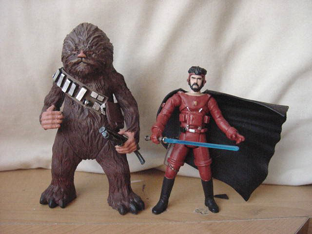 Brad Fyfe's Custom Conceptual Design Chewbacca and Han Solo