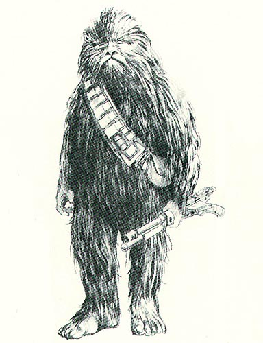 Brad Fyfe's Custom Conceptual Design Chewbacca Reference