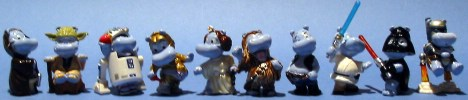 Figurine lineup