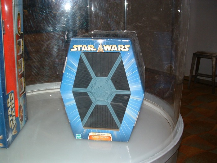 New TIE Fighter packaging
