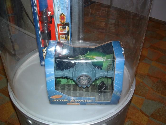New TIE Fighter packaging