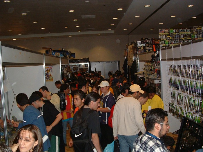 Chaos in the vendor area