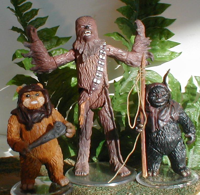 Chewbacca the Wookiee lends a hand!