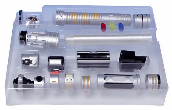 build your own lightsaber kit jedi council