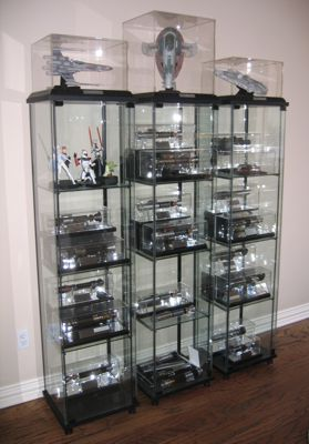 Re: Display Cabinet Ideas