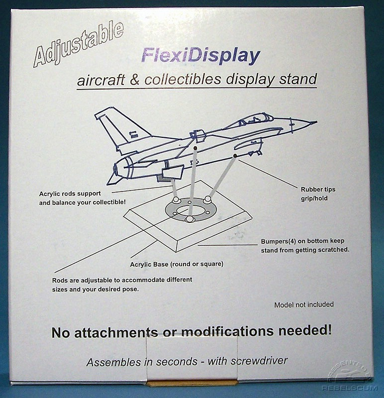 FlexiDisplay Box Front