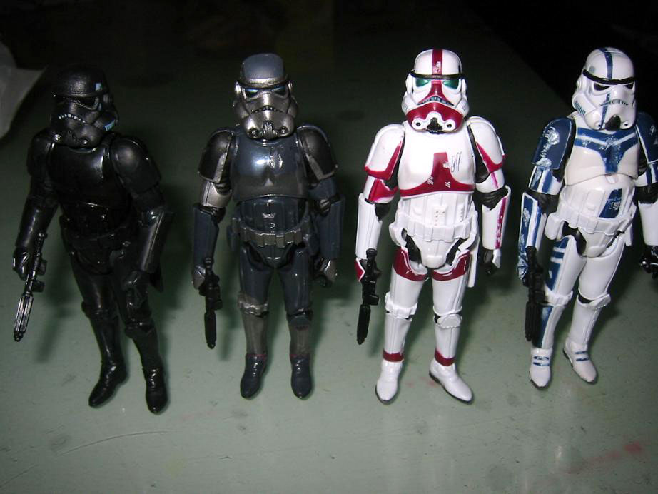 TFUstormtroopers.jpg & What are Forced Unleashed Stormtroopers - Stormtrooper Commander ...