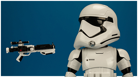 First Order Stormtrooper Robot With Companion App by UBTECH