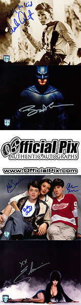 Authentic Autograph Items