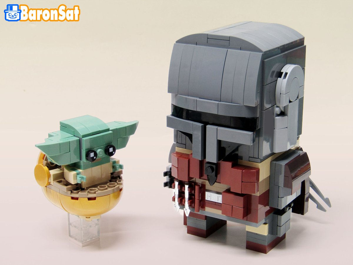 Custom Minifigure Star Wars Mandalorian The Child Baby Yoda Moc Lego US SELLER