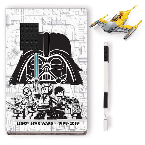 LEGO Star Wars Creativity Journal - Naboo Starfighter
