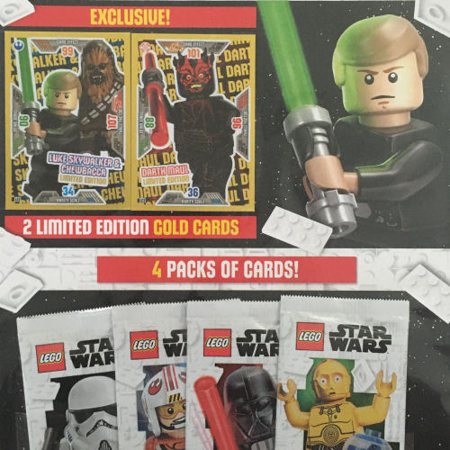 LEGO Star Wars Trading Cards - Series 2 Multi Pack 1