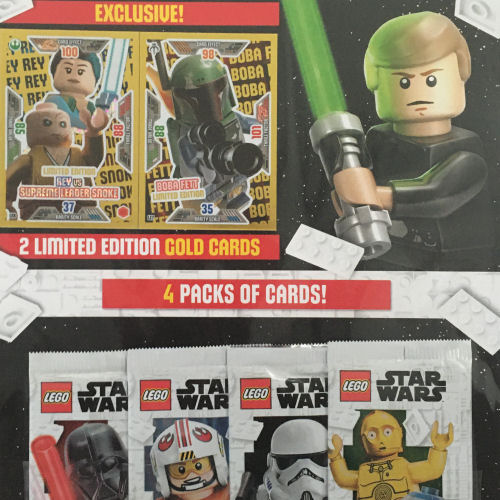 LEGO Star Wars Trading Cards - Series 2 Multi Pack 3