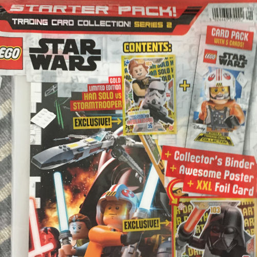 Lego Star Wars-Série 1 trading cards 1 Multipack le 10