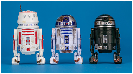 "Star Wars Hasbro Black Series 6/"" Red Squadron R2-D2 Astromech 3 Pack"