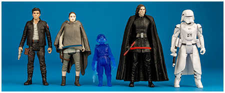 The Last Jedi five pack from Hasbro