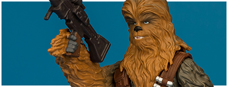 Chewbacca - Solo: A Star Wars Story 3.75-inch action figure from Hasbro
