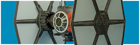 First Order Special Forces TIE Fighter from Hasbro's The Black Series