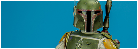 QS003 Boba Fett Quarter Scale Figure from Hot Toys