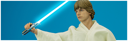 MMS297 Luke Skywalker 1/6 Scale Collectible Figure from Hot Toys