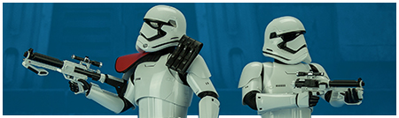 MMS335 The Force Awakens 1/6th scale First Order Stormtrooper Officer and Stormtrooper collectible figure from Hot Toys