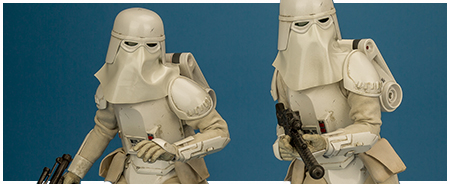 VGM25 Snowtroopers 1/6 scale collectible figure two pack from Hot Toys